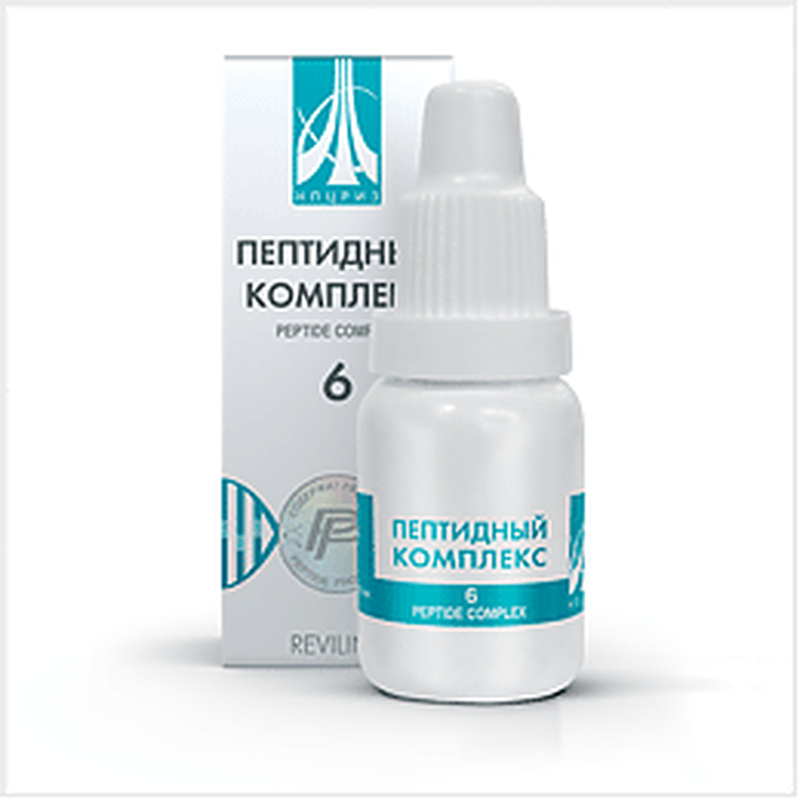 Peptide complex 6 10ml for restoring thyroid and metabolism buy online