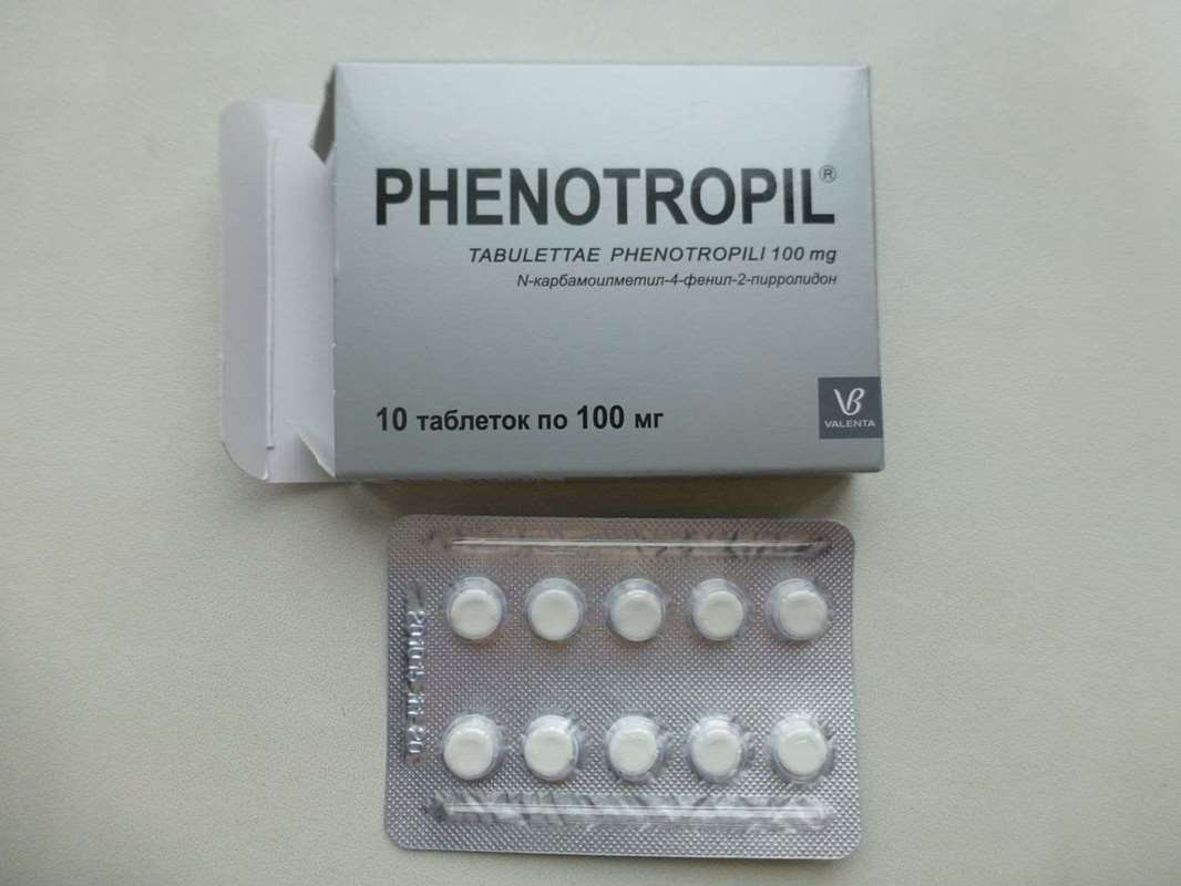 Phenotropil 100mg – 10 pills (Carphedon)