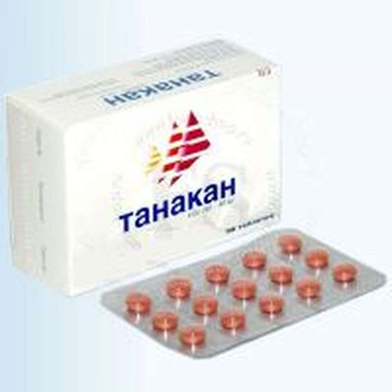 Tanakan 40mg 30 pills drug improves cerebral and peripheral circulation online
