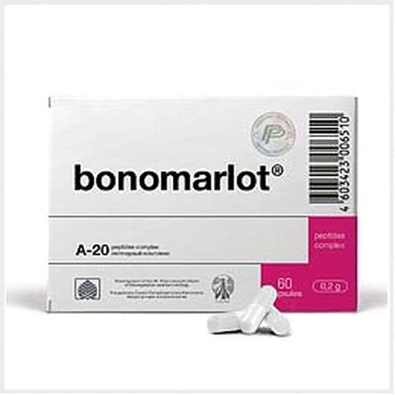 Bonomarlot intensive 1 month course 180 capsules buy peptide online
