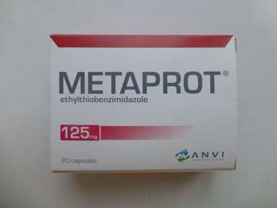 Metaprot (Metaprote, Bemitil) 125mg 20 pills
