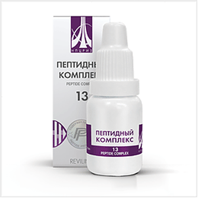 Peptide complex 13 10ml for effective skin rejuvenation of the face and the entire body