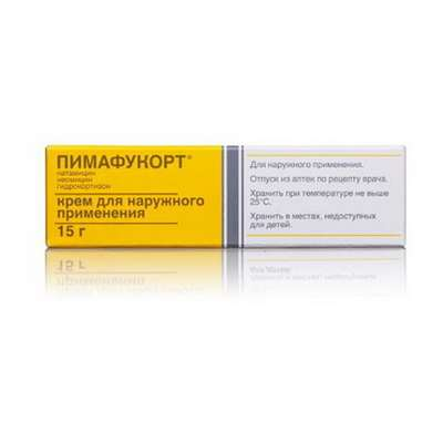 Pimafucort cream 15gr buy broad-spectrum preparation against rash