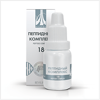 Peptide complex 18 10ml for improves hearing at sensorineural hearing loss buy