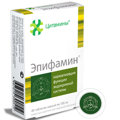 Epifamin epiphysis bioregulator 40 pilss buy cytamins